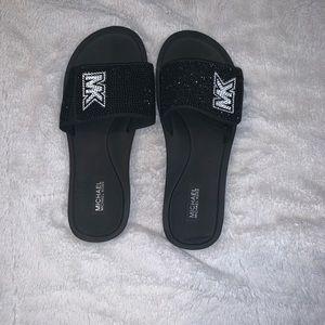 Michael Khors Velcro strap sandals